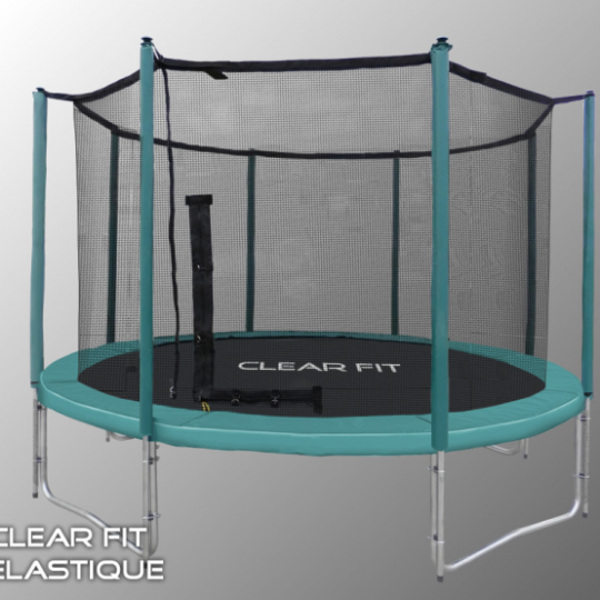 Фото 3 - Батут Clear Fit Elastique 8ft (2,4м).